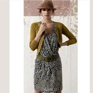 Anthropologie Plenty Tracy Reese Linen Wrap Dress